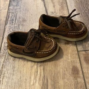 Toddler Sperry Top Sider boat shoe